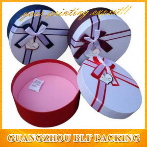 Round Cardboard Gift Boxes with Lid pictures & photos