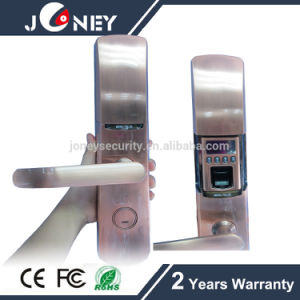 Anti-Theft Special-Designed Lock Cylinder Fingerprint Door Lock with USB Interface pictures & photos