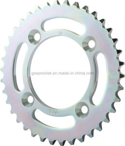Motorcycle Transmission Parts for Honda Kykseries (CRF110) Sprocket pictures & photos