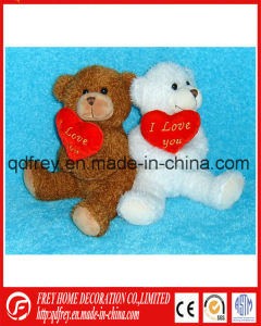 Cute Plush Teddy Bear Toy with Heart pictures & photos