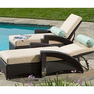 Rattan Beach Chaise Lounge (Cl-1014) pictures & photos