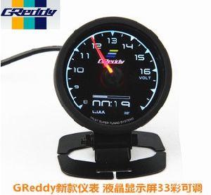 Racing Gauge Greddy Multi D/a LCD Digital Display Car Gauge Turbo Boost  Gauge