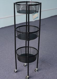 Wire Display Racks | China 3 Tier Good Design Wire Display Racks For Promotion China