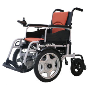 Folding Power Wheelchair for Disabled or Old People (PW-003) pictures & photos