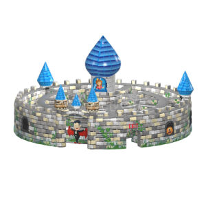New Design Commercial Sports Game Inflatable Castle Maze Chob1137