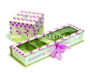 Luxury Compartment Cosmetic Packing Perfume Gift Box