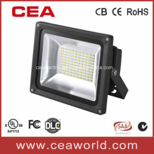 SMD LED Flood Light with UL cUL Dlc FCC Certificates (UL E471712) LED Halogen Light LED Garden Light pictures & photos