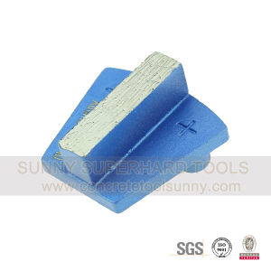 Prep/Master 2 Pin Metal Bond Diamond Grinding Pad Shoe Tools for Concrete Terrazzo Stone pictures & photos