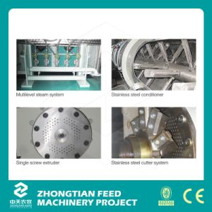 Hot Selling Catfish Aquafeed Extruder Machine pictures & photos