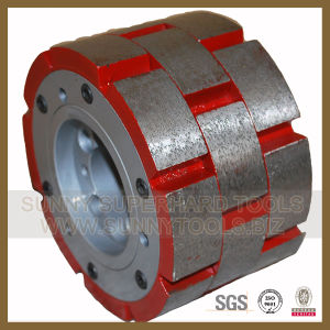 Sp6 Diamond Calibrating Wheels for Granite Slab Grinding pictures & photos