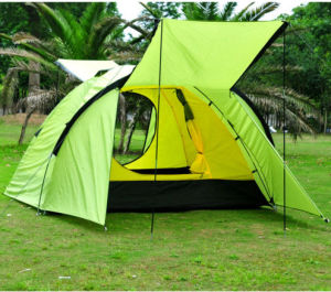 3-4 Person Double-Layer Waterproof Camping Backpacking Hiking Tent pictures & photos