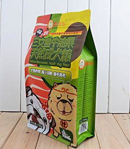 BPA Free Custom Printed Stand up Pet Food Pouches pictures & photos