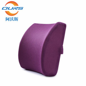Chinese Manufacturer OEM ODM Car Seat Cushion Auto Waist Memory Foam Cushion