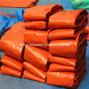 High Quality China Virgin Material Waterproof PE Tarpaulin Factory with Black Corner pictures & photos