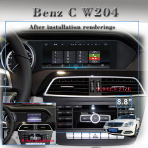 Anti-Glare Carplay Mercedes-Benz C W204 (2011--2014) Car Audio Double DIN pictures & photos