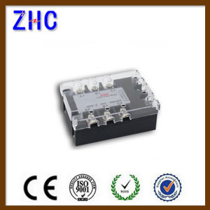 Three Phase AC to AC 90-280VAC to 480VAC 15A Black Solid State Relay SSR Relay with Ce pictures & photos