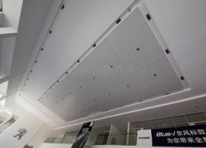 Perforated Sound Insulation Honeycomb Suspending Ceiling/ Interior Wall  Panel