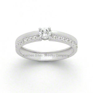 New Style Sterling Silver Wedding Ring Elegant Jewelry (KR3029) pictures & photos