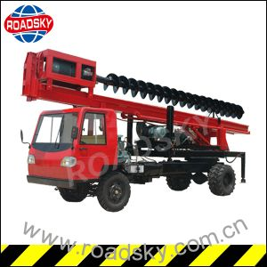 Hydraulic Borehole Drilling Rig Machine for Soalr Farm Construction pictures & photos
