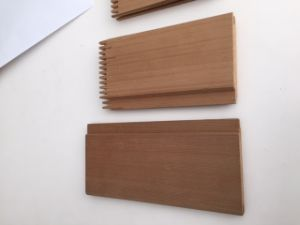 Sanding or Painting Surface Exterior Red Cedar Weather board, Wall Siding Panel for House Decor pictures & photos