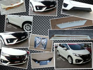 Nobless Bodykits for 2014 Honda Jazz Fit pictures & photos