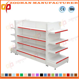 Low Price Double Sides Customized Supermarket Shelves (Zhs635) pictures & photos