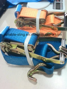 Ratchet Tie Down/Ratchet Lashing/Lashing Tie Down Strap with Ce SGS ISO Approved pictures & photos