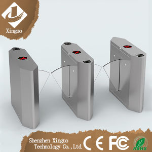 Retractable Flap Gate Barriers Barcode Reader Turnstile pictures & photos