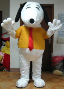 Deluxe Snoopy Mascot Costume for Adult