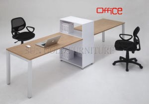 Wooden Office Desk, Simple Office Table/Two Person Office Desk (SZ-OD145) pictures & photos