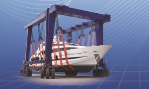 Marine Yard Boat Hoist Gantry Crane pictures & photos
