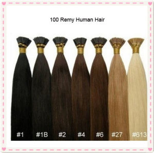 Keratin Brazilian Virgin Stick I Tip Human Hair pictures & photos