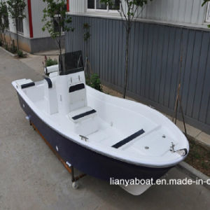 Liya 8 Person Fishing Boat Fiberglass Panga Boat Sale pictures & photos