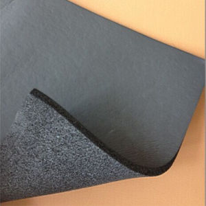 Heat Insulation One Side Skin NBR Foam for Sealing pictures & photos