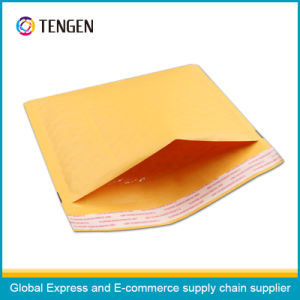 Yellow Kraft Bubble Envelope Without Printing