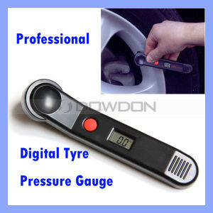 Digital Tire Pressure Gauge Mini 100 Psi LCD Car Bike Motor Tyre Air Pressure Gauge pictures & photos