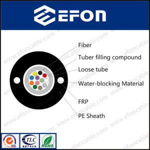 Uni Tube FRP Strength Member Communication Fiber Cable pictures & photos