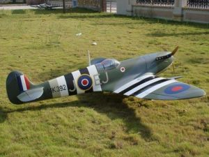 China Fiberglass RC Scale Warbirds Spitfire 80-100CC - China