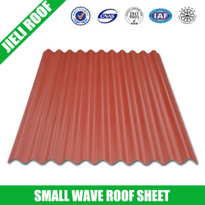 Small Wave Composite PVC Roof Tile for Warehouse pictures & photos