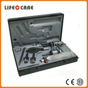 Portable Diagnostic Medical Ophthalmoscope Set pictures & photos