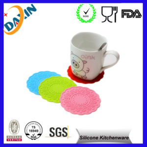 Silicone Cup Mat/Coffee Cup Mats pictures & photos