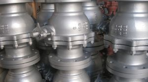 Cast Steel Flange Ball Valve