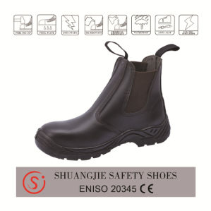 Crazy Horse Leather Work Boot High