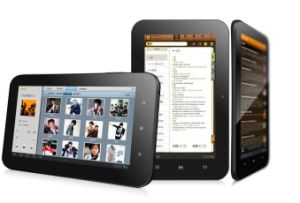 Super Slim Capacitive Tablet PC with Android 4.0 OS