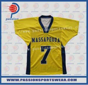29d8bc109f8 China Custom Dye Sublimation Printing Lacrosse Jerseys with 100%Polyester  Fabric Drifit Material Lacrosse Jersey - China Lacrosse Jersey