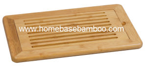 Kitchenware Bamboo Bread Cutting Board Chopping Cheese Board Hb2255 pictures & photos