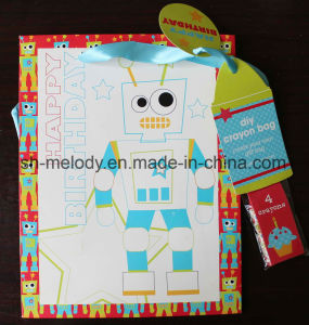 Robot DIY Crayon Gift Bag for Holiday & Birthday pictures & photos