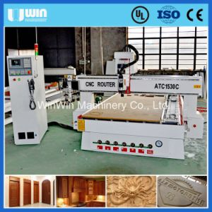 Automatic Wood Carving Machine Wood Stair CNC Router Machine Price pictures & photos