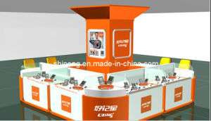 Mobile Kiosk, Phone Glass Counter, Glass Show Case