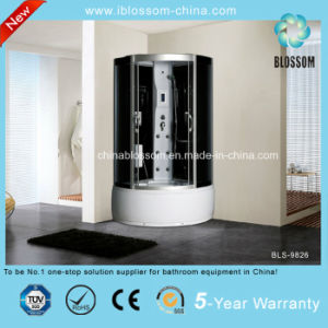 5mm Tempered Grey Glass Foot Massage Steam Complete Shower Room (BLS-9826) pictures & photos